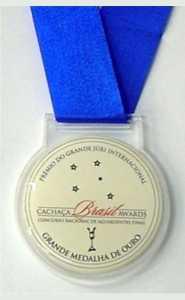 Medalhas - Acrílico - Medalha Personalizada em Acrílico com Adesivo Lente Resinada